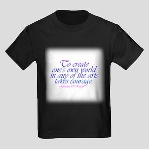 courageflat Kids Dark T-Shirt