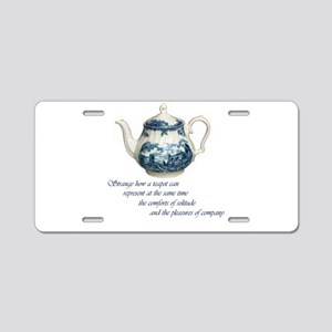 teapot Aluminum License Plate