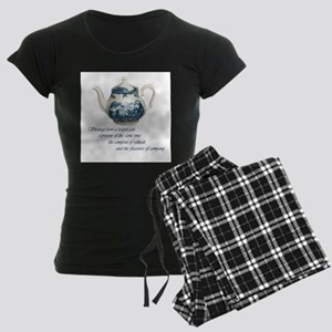 teapot Women's Dark Pajamas