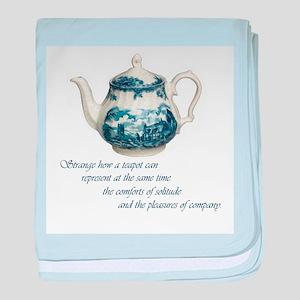teapot baby blanket