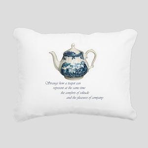 teapot Rectangular Canvas Pillow