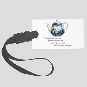 teapot Large Luggage Tag