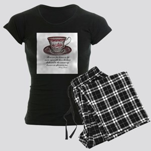 Afternoon Tea Women's Dark Pajamas