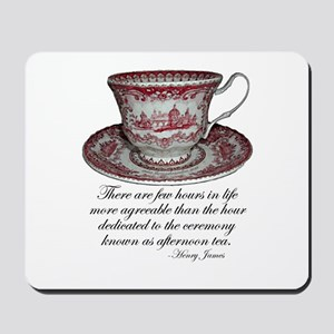 Afternoon Tea Mousepad