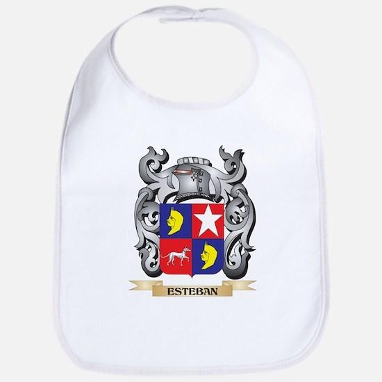 Esteban Coat of Arms - Family Crest Baby Bib