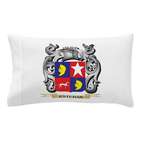 Esteban Coat of Arms - Family Crest Pillow Case