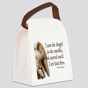michelangelo Canvas Lunch Bag
