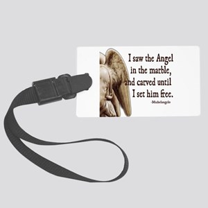 michelangelo Large Luggage Tag