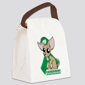 Chihuahuas for Cerebral Palsy Canvas Lunch Bag