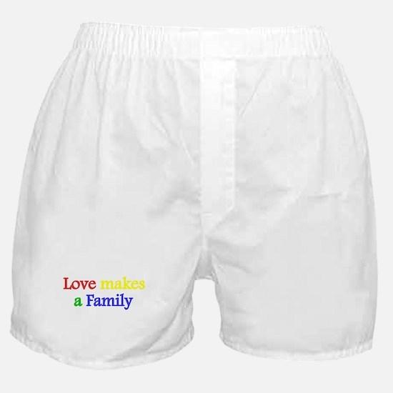 Love makes a family 2 Boxer Shorts