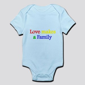 Love makes a family 2 Body Suit