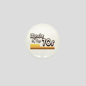 'Made in the 70s' Mini Button