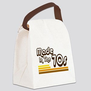 'Made in the 70s' Canvas Lunch Bag
