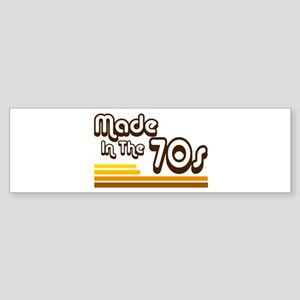 'Made in the 70s' Sticker (Bumper)