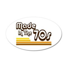 'Made in the 70s' Wall Decal