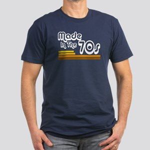'Made in the 70s' Men's Fitted T-Shirt (dark)
