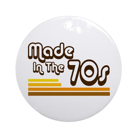 'Made in the 70s' Ornament (Round)