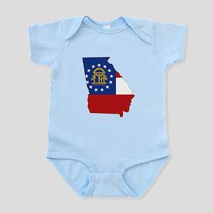 Georgia Flag Infant Bodysuit