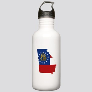Georgia Flag Stainless Water Bottle 1.0L