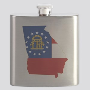 Georgia Flag Flask