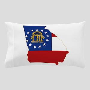Georgia Flag Pillow Case