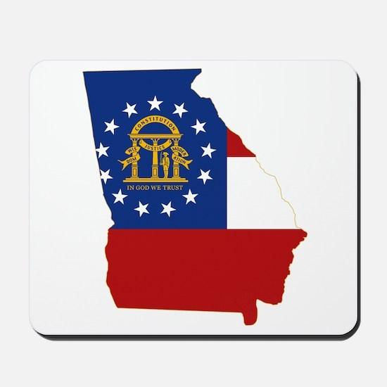 Georgia Flag Mousepad