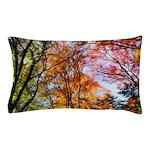 Autumn Trees Oil Painting Pillow Case