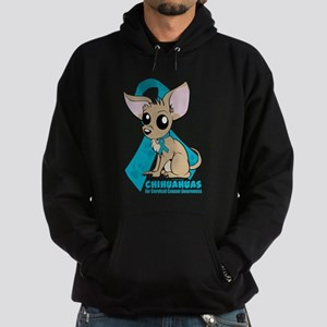Chihuahuas for Cervical Cancer Hoodie