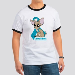 Chihuahuas for Cervical Cancer T-Shirt