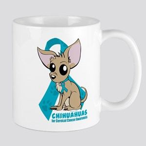Chihuahuas for Cervical Cancer Mug