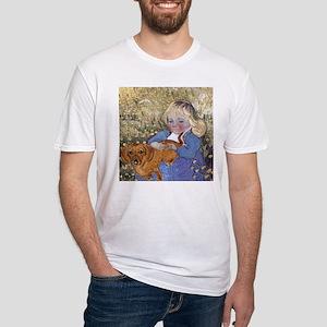 Dauchshund Fitted T-Shirt
