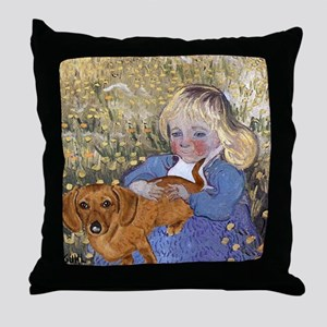 Dauchshund Throw Pillow