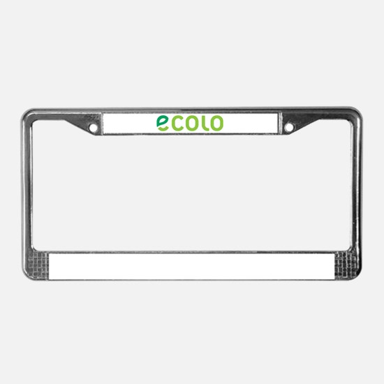 Ecolo License Plate Frame