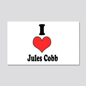 I Heart Jules Cobb 1 Wall Decal