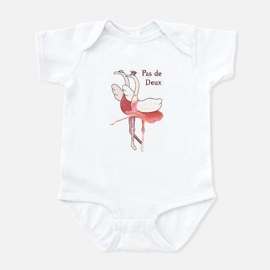 Pas de Deux Ballet Infant Bodysuit