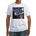 Starry Night Fitted T-Shirt