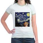 Starry Night Jr. Ringer T-Shirt