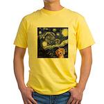 Starry Night Yellow T-Shirt
