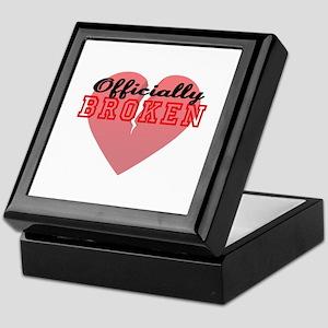 Officially Broken Keepsake Box