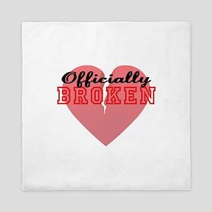 Officially Broken Queen Duvet