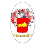 Caccia Sticker (Oval 50 pk)