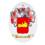 Caccia Ornament (Oval)