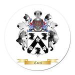 Cacci Round Car Magnet