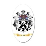 Cacci 20x12 Oval Wall Decal
