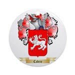 Cabrie Ornament (Round)