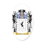 Cabrera Oval Car Magnet