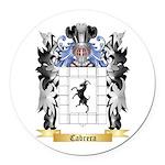 Cabrera Round Car Magnet