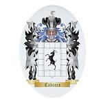 Cabrera Ornament (Oval)