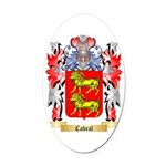 Cabral Oval Car Magnet
