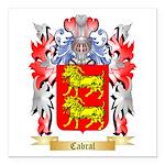 Cabral Square Car Magnet 3